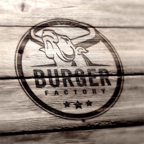 (Beispiel 1: Logo für ein Burger Restaurant)