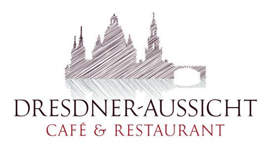 (Beispiel 2: Logo für Restaurant Dresdner-Aussicht)